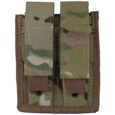 Every Day Carry Tactical MOLLE Double Pistol Magazine Pouch - MC