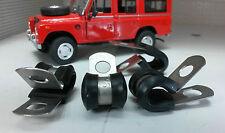 Land Rover Serie 1 2 2a 3 Acciaio Inox Posteriore Occhiello & Tubo Freno