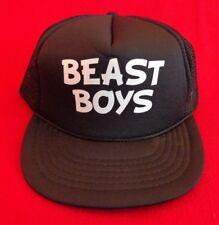 da767a60ee322 Beastie Boys KC Flat Bill Snapback Trucker Mesh Hat Unisex Adjustable Cap
