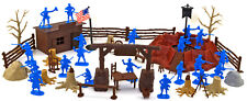 Marx Recast 1776 U.S. Winter Quarters Bundle - 54mm figures & accessories