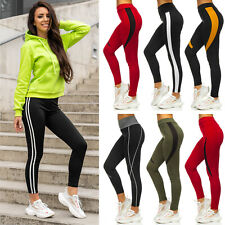 Leggings Sporthose Leggins Trainingshose Slim Hose Fitness Damen Mix BOLF Motiv