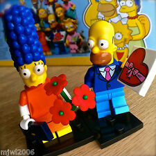 LEGO 71009 THE SIMPSONS Minifigures DATE NIGHT HOMER & MARGE #1 SERIES 2 SEALED