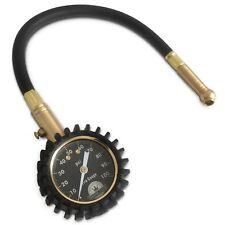 Motor Luxe Tire Pressure Gauge 100 PSI - Accurate Heavy Duty Dial For Your Ca...