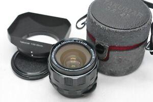 [MINT w/ Hood Case] PENTAX Super Multi Coated TAKUMAR 28mm f3.5 M42 Lens JAPAN