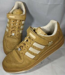 Dead Stock 2002 Adidas Forum Lo Mb Camel 147015 Sneaker OG Shoes Men 11 3 Stripe