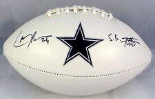 Larry Brown Signed Dallas Cowboys Logo Football JSA Authenticated