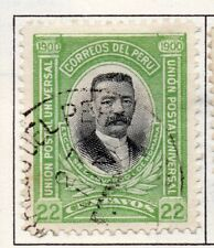 Peru 1895-1902 Early Issue Fine Used 22c. 182272