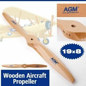 AGM TWO BLADE WOOD PROPELLERS