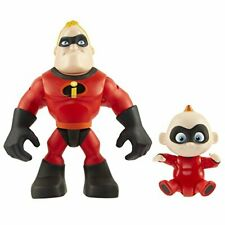 The Incredibles 2 Mr. Incredible  JackJack Junior Supers Action Figure 2Pack ...