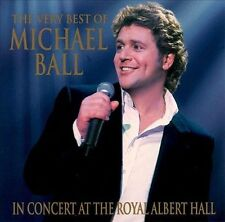 Michael Ball The Very Best Of In Concert At The Royal Albert Hall CD Album VGC