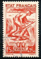 PROMO / TIMBRE DE FRANCE OBLITERE N° 577 TRAVAIL FAMILLE PATRIE COTE 18,50 €