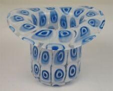ITALIAN MURANO GALLIANO MURRINE ART GLASS HAT