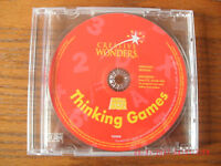 NEW School House Rock Thinking Games Creative Wonders computer software cd
