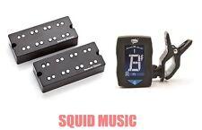 Seymour Duncan SSB-4NYC Phase II NYC Soapbar 4 String Bass Set ( DUNLOP TUNER )
