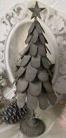 Weihnachtsbaum Tannenbaum Metall Weihnachten Shabby Vintage Landhaus  Deko 49cm