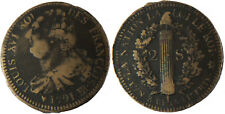 CONSTITUTION  ,  LOUIS XVI  ,  2  SOLS  FRANÇOIS  1791  BB  STRASBOURG  ,  RARE