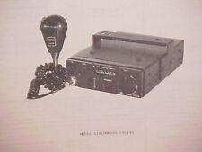 1979 SUPERSCOPE CB RADIO SERVICE SHOP MANUAL MODEL AIRCOMMAND CB-140