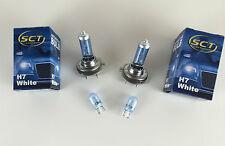 2 x H7 LAMPE WHITE BLUE 2 x W5W 12V 55W blau-weiß XENON LOOK E-PRÜFZEICHEN