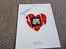 Lilly Tomlin Short Cuts Signed Autographed Movie Press Kit Folder PSA Guaranteed
