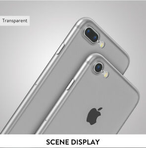 Baseus Luxury Ultra Thin Slim protective Case For iPhone X 8 7 Clear Ships NJ