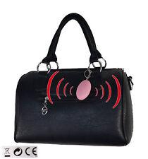 Handtaschen Alarm 120db - Schmuck für Ihre Sicherheit vor Angriff + Belästigung