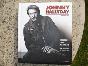 "Livre ""Johnny Hallyday"" Sa musique, sa vie, ses concerts (2)"