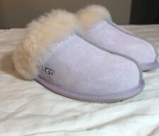 UGG SCUFFETTE II 5661 WOMAN'S SLIPPERS LAVENDER FOG SZ 6 NEW*AUTHENTIC HOT COLOR