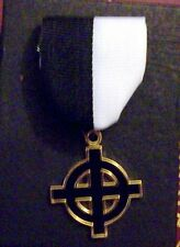 Medieval Ancient Secret Society Order Norse German Rune Black Sun Cross Occult