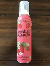 Bath & Body Works Strawberry Pound Cake Whipped Body Mousse Lotion Next Day Ship