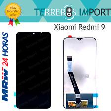 Pantalla completa digitalizador LCD original Xiaomi Redmi 9 negro M2004j19g