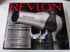 Ionic Hair Dryer Revlon Professional Turbo Blow 2 Speed Diffuser 1875W Free Ship