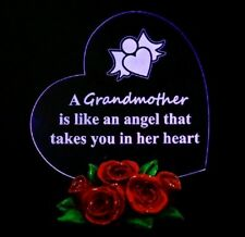 Special Gifts for Grandma Christmas Gift for Grandmother Heart LED