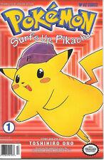 Pok'emon Surf's Up, Pikachu Comic Book #1 First Print Viz Comics 1999 VERY GOOD+