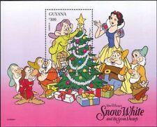 Guyana 1996 Christmas/Disney/Snow White/Dwarfs/Cartoons/Films 1v m/s (b6268)