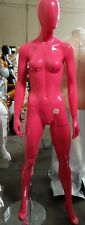 Used Mn-Bc Hot Pink Semi Glossy Female Mannequin (#C) Local Pickup Los Angeles