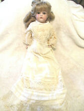 Kestner Doll~Bisque Head~Leather Body~17.50~ Open~Close Eyes~Germany~Antique