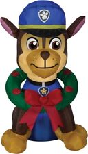 Airblown Chase With Wreath Paw Patrol Christmas Yard Inflatable Decoration Gemmy