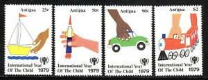 1979 Antigua SC# 537-540 - International Year of the Child - M-NH