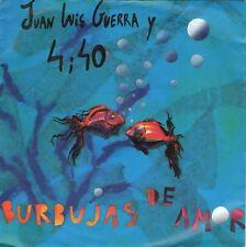 7inch JUAN LUIS GUERRA Y 4;40burbujas de amorGERMAN 1990 EX+  (S1969)