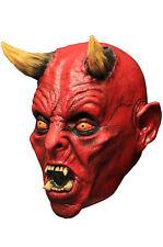 Ghoulish Hades Devil Demon DELUXE ADULT LATEX SATAN MASK
