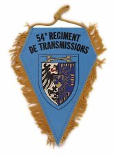 Fanion (wimpel/pennant) Militaire ♦ 54° Régiment de Transmissions