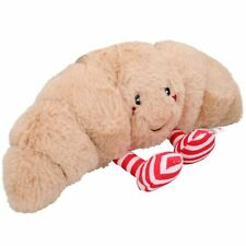 Dog Gift Christmas Croissant Festive Food Soft Squeaky Plush Toy Present