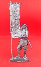 Tin Figurine 54mm TOP QUALITY MINIATURE Soldier toy Ashigaru bearer 1600 year