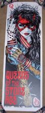 QUEENS OF THE STONE AGE concert gig poster MELBOURNE 7-20-17 2017 Rhys Cooper