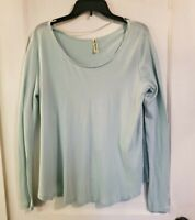 EUC Women's WE THE FREE PEOPLE Long Sleeve Top Oversized fit size medium
