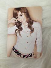 SNSD Jessica Gee Japan Jp official photocard card u.s seller Kpop K-pop
