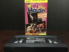 WWF In Your House Greatest Matches VHS