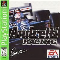 Andretti Racing (PlayStation 1, PS1) Disc Only, Tested