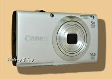 CANON A2400 IS SILVER MECHANICALLY RECONDITIONED-STABILIZATION HELPS HAND SHAKE