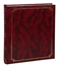 Album classico in ecopelle a foglio libero 29x31 cm. 100 pagine - Bordeaux